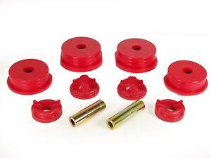 Prothane 13 1901 95 99 Eclipse Eagle Talon 4 Cyl Motor Mount Inserts Fwd Awd Red
