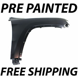 Painted To Match Front Right Fender For 2011 2018 Jeep Grand Cherokee 11 18