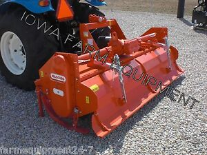 Rotary Tiller Maschio B230 93 Tractor 3 pt Pto 100hp Gearbox