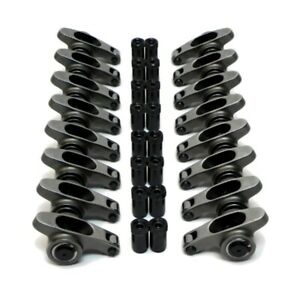 327 350 400 Small Block Chevy Stainless Steel Roller Rocker Arms 1 5 Ratio 7 16
