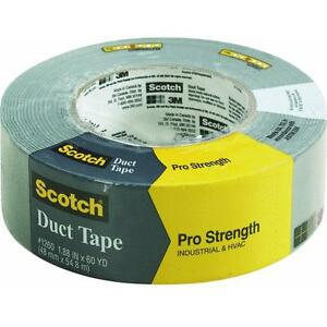 24 Pk 3m Scotch Pro Strength 1 88 X 60 Yd Gray Duct Tape 1260 a