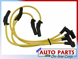 Ignition Spark Plug Wires Ford Focus L4 2 0l 2000 2004 Usa Cable 8 Mm Sohc Only