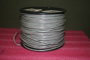 Encore Wire E 51583 500 Ft 14 Awg Mtw Gray Stranded Copper Wire 600v New 500 Ft