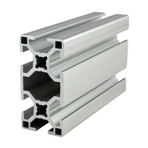 80 20 Inc T slot 30mm X 60mm Aluminum Extrusion 30 Series 30 3060 X 1525mm N