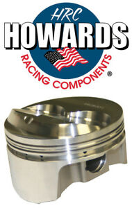 Howards Cams 841500603 434 Sbc Chevy Forged Dome Pistons 13 4 1 4 155 Bore