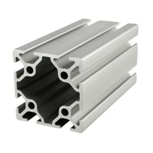 80 20 Inc T slot 50mm X 50mm Aluminum Extrusion 25 Series 25 5050 X 1525mm N