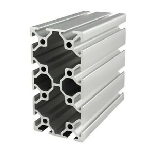 80 20 Inc T slot 50mm X 100mm Aluminum Extrusion 25 Series 25 5010 X 1220mm N