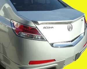 2009 2016 Acura Tl Painted Rear Lip Trunk Spoiler Factory Style Brand New