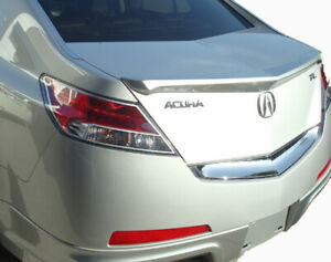 Factory Style Rear Lip Spoiler Unpainted Fits 2009 2013 Acura Tl