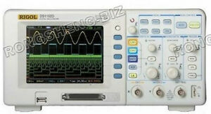 New Rigol Oscilloscope 100mhz Ds1102d 1g Sr 16 Channels Logic Analyzer