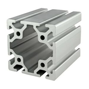 8020 Inc T Slot 80mm X 80mm Aluminum Extrusion 40 Series 40 8080 X 1220mm N