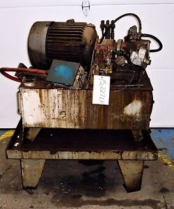 sls1d32 Hydraulic Power Supply Unit 5hp 15227lr