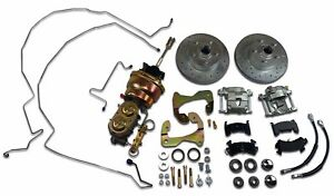 1955 1956 1957 Chevrolet Power Front Disc Brake Conversion 7 Dual Booster