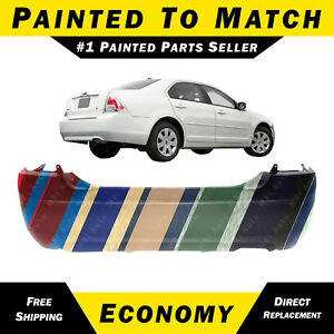 New Painted To Match Rear Bumper Cover For 2006 2007 2008 2009 Ford Fusion 2 3l