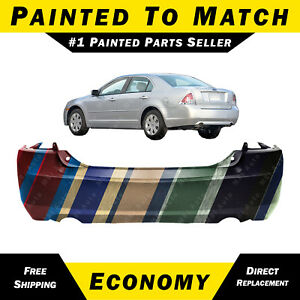 New Painted To Match Rear Bumper Cover Replacement For 2006 2009 Ford Fusion