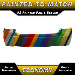 Painted To Match Rear Bumper Cover Replacement For 2006 2011 Honda Civic Sedan