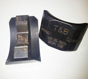 Thomas Betts Color Keyed 15606 15 Ton Hex Die Die Code 80h For Tnb Tbm15i