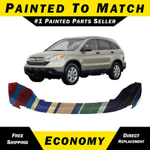 New Painted To Match Front Upper Bumper Cover For 2007 2008 2009 Honda Crv Cr v