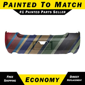 New Painted To Match Rear Bumper Cover For 2006 2013 Chevy Impala Dual Exhaust
