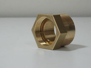 Brass Adapter Fitting 1 Npsm To 3 4 Npt Female