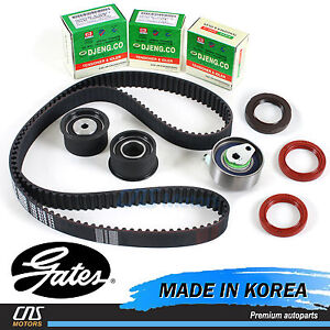 Gates Htd Timing Belt Kit 99 08 Chevy Optra Nubira Suzuki Forenza Reno 2 0l
