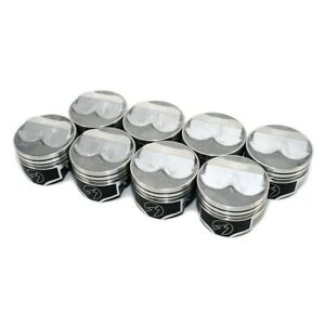 Speed Pro Fmp H617cp Chevy 350 275 Dome Pistons Std 5 7 Rod Hypereutectic Sbc