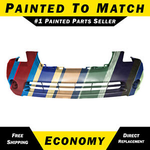 New Painted To Match Front Bumper Cover For 2002 2003 2004 Nissan Altima Sedan