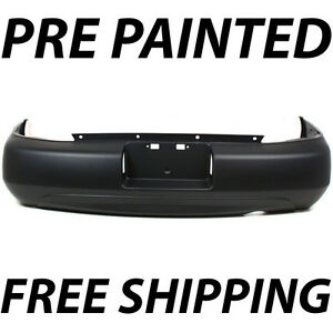 New Painted To Match Rear Bumper Cover For 2000 2001 Nissan Altima H50220z825