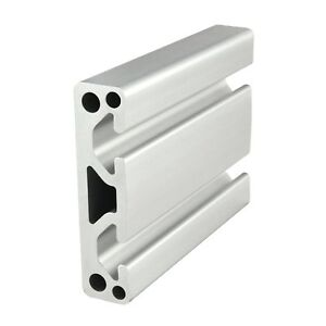 80 20 Inc T slot 3 X 75 Smooth Aluminum Extrusion 15 Series 3075 X 96 50 N