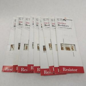 45 radio Shack 271 1335 10k ohm Resistor 1 4 Watt 5 Tolerance 5 Pack X 9 45