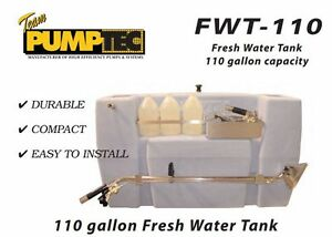 Carpet Cleaning Pumptec Truckmount 110 Gal Fresh Water Tank