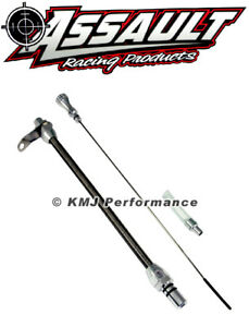 Chevy Gm Turbo 400 Steel Braided Transmission Dipstick Tube Hot Rod Th400