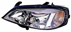 Opel Astra G 2000 2004 Manual Electric Headlight Front Lamp Left Lh