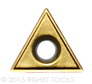 Rishet Tools Tt 431 C5 Multi Layer Tin Coated Carbide Inserts 10 Pcs