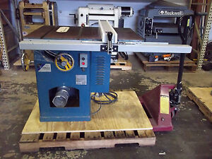 Jet Tablesaw 3hp 3ph
