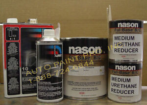 Honda Nh578 Taffeta White Dupont nason Basecoat Clearcoat Restoration Car Paint