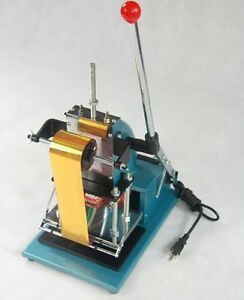 Hot Foil Stamping Machine Tipper Bronzing Pvc Id Card Letterpress Printing Diy
