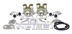 Empi Vw Dual 40 Hpmx Type 1 Carb Kits With Out Air Cleaners 47 6317