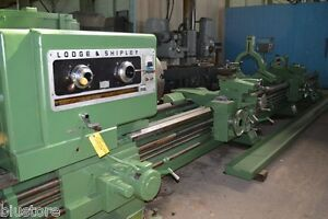 Lodge Shipley Triple Carriage 12 5 Hollow Spindle Oil Country Lathe 5812