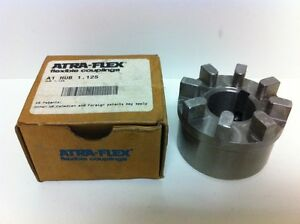 New Atra flex Flexible Coupling A1 1 125 Hub W keyway