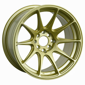 18x9 75 Xxr 527 Wheels 5x100 114 3 Rim Et20mm Gold Evo