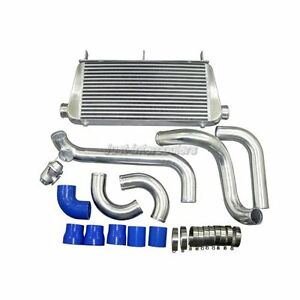 Intercooler Kit Bov For Toyota Supra 1jz gte 1jzge Mk Iii Mk3 Single Turbo