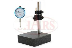 Shars 2 Piece Combo 0 1 Dial Indicator Granite Stand New