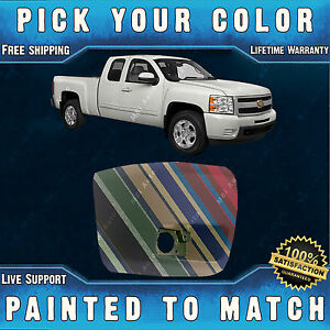 Painted To Match Passengers Front Bumper End 2007 2013 Chevy Silverado W Fog