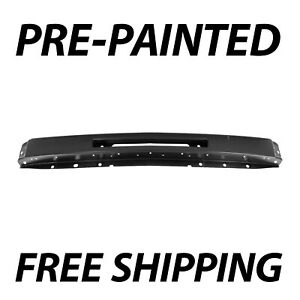 New Painted To Match Front Bumper Impact Face Bar For 2007 2013 Chevy Silverado