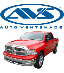 Avs 622004 Aeroskin Bug Shield Chrome Hood Protector 2009 2017 Dodge Ram 1500