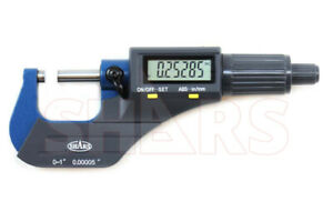 Out Of Stock 90 Days Shars 0 1 0 00005 Digital Electronic Outside Micrometer C