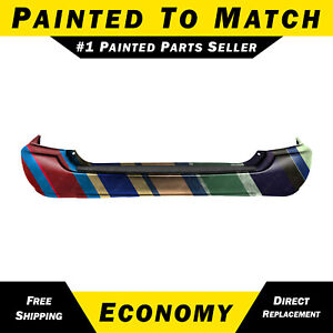 New Painted To Match Rear Bumper Cover For 2004 2007 Toyota Highlander Suv