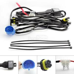 1x 35w Hid 9007 Hb5 High Lo Low Beam Bi Xenon Controller Relay Wiring Harness
