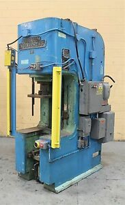 50 Ton Denison Multipress C Frame Hydraulic Press Metal Punching Forming